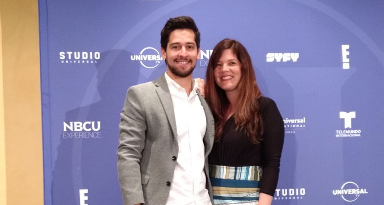 Carlos Valera y Adriana Echeverry, creative managers de NBCUnlimited