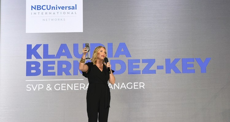 Klaudia Bermúdez-Key, SVP-General Manager de NBCUniversal International Networks Latin America