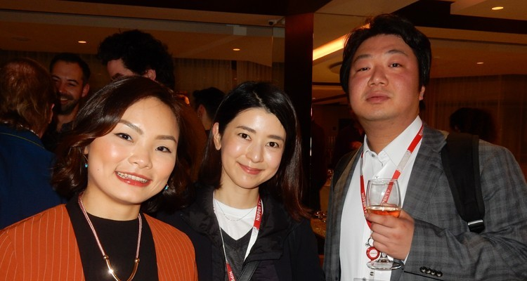 Asia, present at FRAPA meeting: Michelle Lin, APAC manager, K7 Media, UK, with Nippon TV (Japan): Fusako Nagashima, head of formats, and Tom Miyauchi, international business development