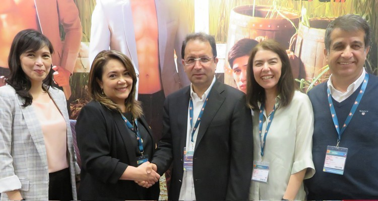 ABS-CBN (The Philippines) will coproduce 'A Mother's Guilt' with Limon Yapim, for a Turkish version that will air at FOX TV: Laarni Yu, Head of EMEA, and Macie Imperial, VP and Division Head, ABS-CBN with Hayri Aslan, CEO, Limon Production, Idil Belli, GM, Sera Film, and Irfan Baytas, producer, Limon Production