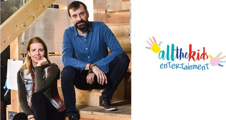 Joana Carrion y Pablo Vinuelas, Socios en All The Kids