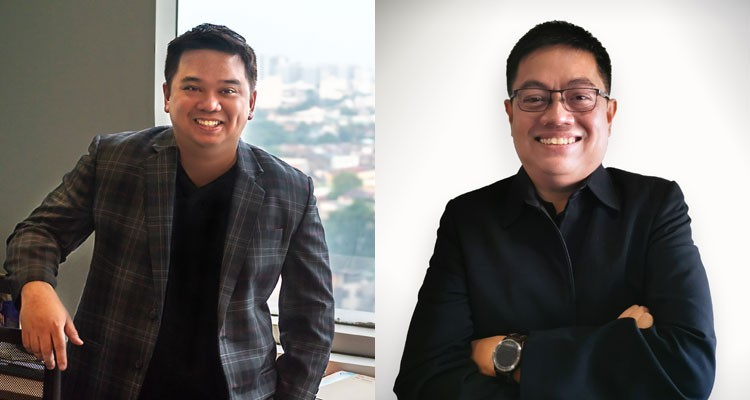 """Dennis Augusto """"Dingdong"""" L. Caharian as President and COO of GMA New Media, Inc., and Raymund C. Sarmiento, SVP and CTO"""